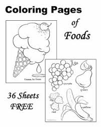 Small Picture vegetable coloring sheet Google Search April Preschool
