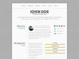 Html Resume Templates Stunning 28 Professional HTML Resume Templates Manju Devaraj Pinterest