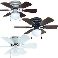 ceiling fan mount. 30 inch flush mount hugger ceiling fan w light kit satin nickel, bronze or white h