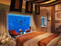 underwater hotel room at night. Underwater Hotel Room At Night I