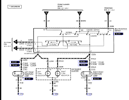 the wiring diagram for ford f350 flasher graphic