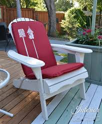 fab outdoor chair cushions on a budget