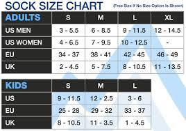 Snow Socks Size Chart Gsou Snow Ski Snowboard Socks