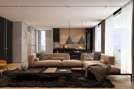 brown living room rugs. Pict 23 Brown Living Room With Big Sofa Dark Rugs Wide Glass Windows Orange Single Chair Marble Wall Parquet Floor Chandelier