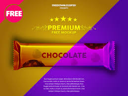 Psd Download Download Chocolate Wrapper Free Mockup By Free Download Psd