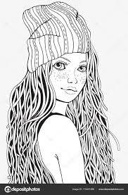 Tekenen Cute Meisje Ecosia With Regard To Hoe Teken Je Mensen