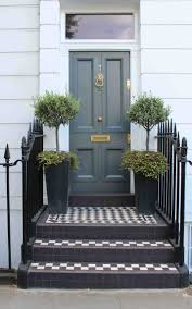 grey front doorVery English  Simply Splendid Living  The Front Door  Very
