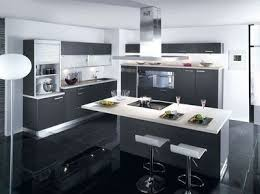 Cuisine Avec Ilot Central Ikea Modele Cuisine Avec Ilot Bar Delphine