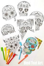 Here are free fun coloring pages for children inspired by día de los muertos. Day Of The Dead Coloring Pages For Grown Ups Kids