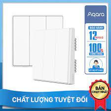 Công tắc thông minh Aqara Smart Wall Switch D1 Không Dây Nguội - Hàng Chính  Hãng BH 12 Tháng chính hãng 599,000đ