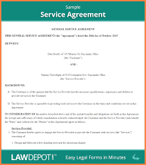 services contract template invoice example  10 services contract template