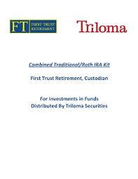 Required Minimum Distribution Percentage Chart Combined Traditional Roth Ira Kit First Trust Retirement