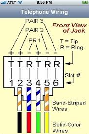 phone jack wiring diagram 2010 schematics and wiring diagrams how to wire a phone jack voice or telephone rj 11 thru 14