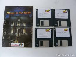 Alone In The Dark Manual Y Juego En Diskette Sold