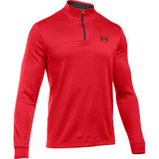 under armour 1286334. under-armour-mens-af-icon-qtr-zip-red- under armour 1286334