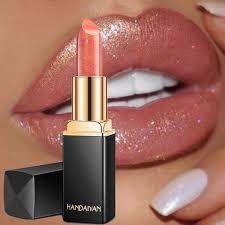 <b>HANDAIYAN</b> Sexy Color Changing <b>Glitter Lipstick Shimmer</b> ...