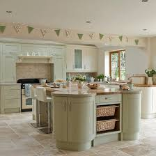 Modren Kitchen Design Ideas Country Style Sage And Cream Shakerstyle Intended Inspiration