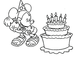 Mickey Mouse Birthday Coloring Pages Lovely Mickey Mouse Clubhouse