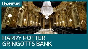 Inside <b>Harry Potter's Gringotts</b> Bank   ITV News - YouTube
