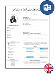 The Best Easy To Edit Resume Models In Word Noctula Store