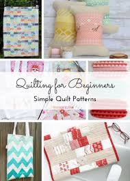 Quilting for Beginners: 21 Simple Quilt Patterns | FaveQuilts.com & Quilting for Beginners 21 Simple Quilt Patterns Adamdwight.com