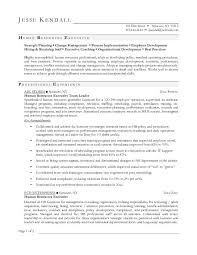 free human resources executive resume example sample hr executive resume