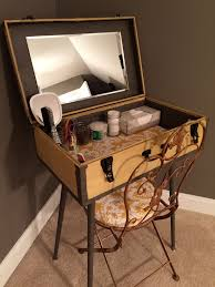 classic diy repurposed furniture pictures 2015 diy. DIY Antique Suitcase Repurposed As A Vanity For My Guest Room. Tin More Than 50 Years Old, Yellow And Gray, Vintage. Classic Diy Furniture Pictures 2015 S