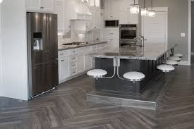herringbone tile floor. Herringbone Wood Texture Tile Floor Installation Kitchen Entry With Decorations 3