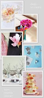 Martha Stewart Paper Flower Paper Flower Tutorials From Martha Stewart Decor8