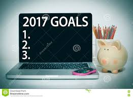 goals for new year list concept stock photo image  goals for 2017 new year list stock images