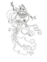 Winx Club Mermaid Bloom Coloring Page By Winxmagic237 Deviantart