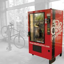 Vending Machines Dimensions Adorable High Security Full Size Vending Machine Bike Fixation