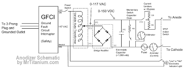 gfci circuit diagram gfci image wiring diagram build a low cost titanium anodizer on gfci circuit diagram