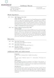 The Best Resume Formats X Resume Formats Word Free The Best Resume ...
