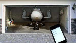 smartphone garage door opener