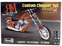 how to build the custom chopper set by rm kustoms 1 12 scale