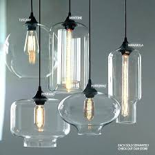 blown glass pendant lights clear glass pendant lights clear glass pendant lights for kitchen beautiful clear