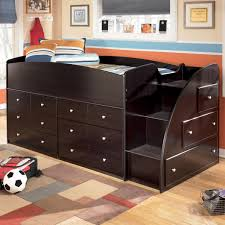 twin loft bed with chest storage
