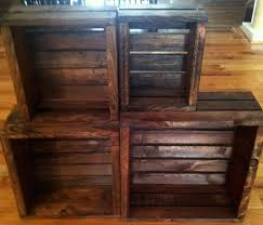 wooden crate bench diy
