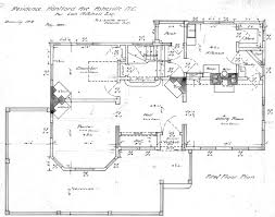draw floor plans. First Floor Plan Drawing Lon Mrs Mitchell House Draw Plans L