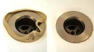 bathtub drain stopper not sealing tub shoe new seal in place and a little bit of tub drain seal kit bathtub