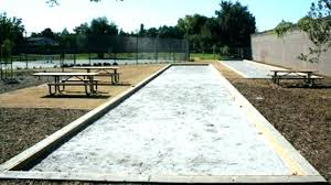bocce ball court design ball court cost backyard courts design