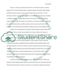Fashion Essay Example Major Magdalene Project Org
