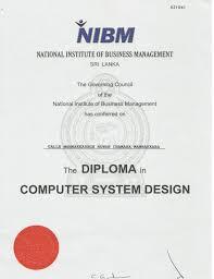 computer system design sl  diploma computer system design sl