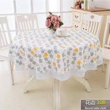 senarai harga baceda plus size pvc table cloth for home hotel round table non slip table