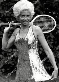 Lea Pericoli Italian Tennis Player Hurlingham Gold Editorial Stock Photo -  Stock Image