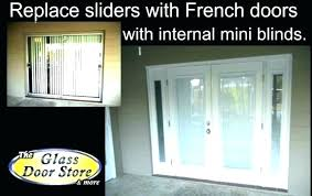 cost to replace sliding glass door sliding glass door cost with installation installing a sliding patio