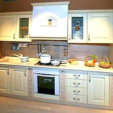 how to whitewash kitchen cabinets white wash distressed with granite countertops