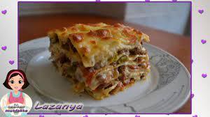 Lazanya Tarifi-Lazanya Nasıl Yapılır?-Lasagna-Beşamel Sos Tarifi - YouTube