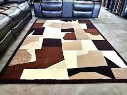 full size of red brown and cream area rugs tan black rug modern color block